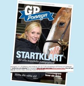 GöteborgsPostens bilaga inför GP Ponnyn 2013.